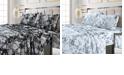 Tribeca Living Vernazza Printed 300 TC Cotton Sateen Extra Deep Pocket King Sheet Set