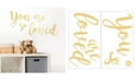Brewster Home Fashions You Are So Loved Wall Quote