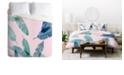 Deny Designs Iveta Abolina Peaches N Cream P Twin Duvet Set