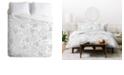 Deny Designs Iveta Abolina Camellia Garden IV Twin Duvet Set