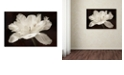 "Trademark Global Cora Niele 'White Tulip I' Canvas Art, 12"" x 19"""