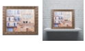 "Trademark Global Cora Niele 'Facade I' Ornate Framed Art, 11"" x 14"""