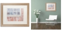 "Trademark Global Cora Niele 'Little Windows II' Matted Framed Art, 16"" x 20"""