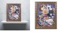 """Trademark Global Jenny Newland 'Kittens In Closet' Ornate Framed Art, 16"""" x 20"""""""