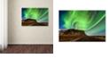"Trademark Global Michael Blanchette Photography 'Aurora Splash' Canvas Art, 12"" x 19"""