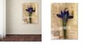 "Trademark Global Nick Bantock 'Iris Plan' Canvas Art, 24"" x 32"""