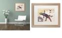 """Trademark Global Nick Bantock 'Rainbow Lizard' Matted Framed Art, 16"""" x 20"""""""