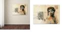 "Trademark Global Nick Bantock 'Ronda Maur' Canvas Art, 14"" x 19"""