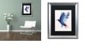 """Trademark Global Robert Farkas 'Bloody Crow' Matted Framed Art, 16"""" x 20"""""""