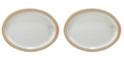 Certified International Artisan Oval Platter