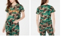 Dickies Cotton Logo Camouflage-Print T-Shirt
