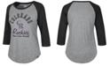 '47 Brand Women's Colorado Rockies Imprint Splitter Raglan T-Shirt