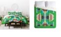 Deny Designs Holli Zollinger Acacia Verde Twin Duvet Set