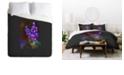 Deny Designs Holli Zollinger Desert Botanical Lupine Queen Duvet Set
