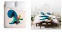 Deny Designs Holli Zollinger Zodiac Virgo Twin Duvet Set