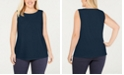 Charter Club Plus Size Sleeveless Top, Created for Macy's