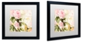 "Trademark Global Color Bakery 'Florabella Ii' Matted Framed Art, 16"" x 16"""