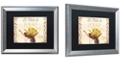 "Trademark Global Color Bakery 'Vermont Summer Xi' Matted Framed Art, 16"" x 20"""
