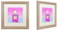 """Trademark Global Color Bakery 'Colored Scents Iii' Matted Framed Art, 16"""" x 16"""""""