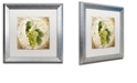 """Trademark Global Color Bakery 'Tuscany Table Blanc' Matted Framed Art, 16"""" x 16"""""""