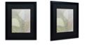 """Trademark Global Color Bakery 'Leaf Story V' Matted Framed Art, 16"""" x 20"""""""
