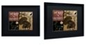 "Trademark Global Color Bakery 'Locked And Loaded Iv' Matted Framed Art, 16"" x 20"""