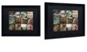 """Trademark Global Color Bakery 'Cabelas' Matted Framed Art, 16"""" x 20"""""""