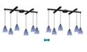 ELK Lighting Classico Coll - Starburst Blue