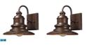 ELK Lighting 1 light outdoor sconce in Hazelnut bronze