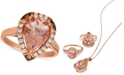 Le Vian Morganite (2-1/3 ct. t.w.) & Diamond (1/3 ct. t.w.) Ring in 14k Rose Gold