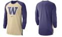Nike Men's Washington Huskies Breathe Shooter Long Sleeve T-Shirt