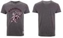 Retro Brand Men's Mississippi State Bulldogs Retro Logo Tri-blend T-Shirt
