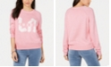 Juicy Couture Cotton LA Logo Crewneck Sweater