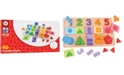 Bigjigs Toys Wooden My First Fractions Puzzle