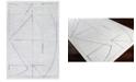 Surya Hightower HTW-3010 Medium Gray 2' x 3' Area Rug