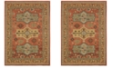 "Oriental Weavers Toscana 9571A Orange/Gold 7'10"" x 10'10"" Area Rug"