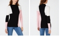 INC International Concepts INC Colorblock Ribbed-Knit Sweater, Created for Macy's