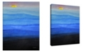 Ready2HangArt 'Foggy Blue' Canvas Wall Art, 30x20""