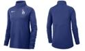 Nike Women's Los Angeles Dodgers Half-Zip Core Element Pullover