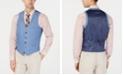 Bar III Men's Slim-Fit Linen Suit Vest, Created for Macy's