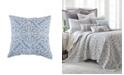 Levtex Home Architectural Crewel Teal Pillow
