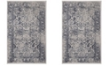 Safavieh Adirondack Gray and Navy 3' x 5' Area Rug