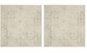 Safavieh Adirondack Ivory and Sage 6' x 6' Square Area Rug