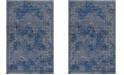 Safavieh Palazzo Light Blue and Blue 4' x 6' Area Rug