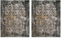 Safavieh Classic Vintage Black and Silver 8' x 10' Area Rug
