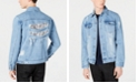 INC International Concepts I.N.C. Men's Wally Denim Trucker Jacket, Created for Macy's