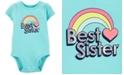 Carter's Baby Girls Best Sister Graphic Cotton Bodysuit