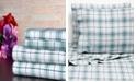 Bibb Home 100% Cotton Flannel Printed King Sheet Set