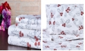 Bibb Home 100% Cotton Flannel Printed Queen Sheet Set