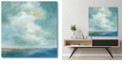 """Courtside Market Cloudscape III Gallery-Wrapped Canvas Wall Art - 16"""" x 16"""""""